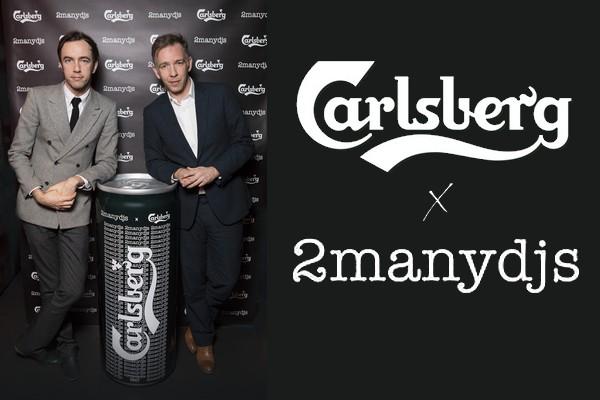 Carlsberg 2 Many dj's