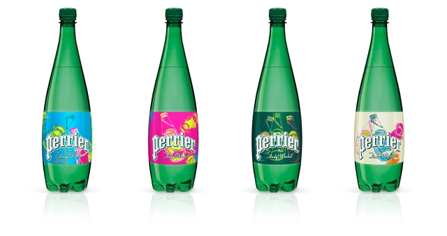 Bouteilles 1L PERRIER BY WHAROL 150ans / ©Perrier