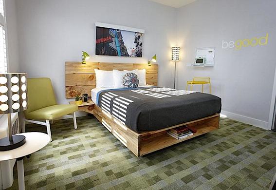Good Hotel - Chambre Queen / ©Good Hotel