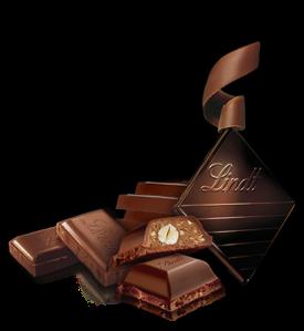 Tablettes de chocolat Lindt