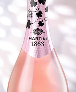 Martini Rosé 2013 - close up2