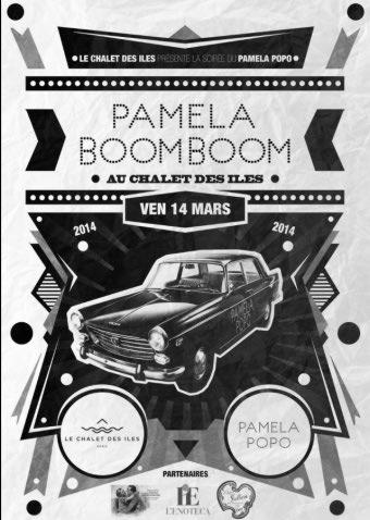 soirée PAMELA BOOMBOOM