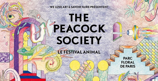 The Peacock Society Poster