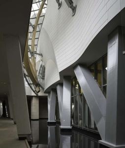 Fondation Louis Vuitton intérieur