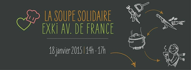 SOUPE SOLIDAIRE / EXKi