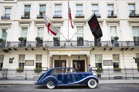 Vintage Car - brown's Hotel (6)