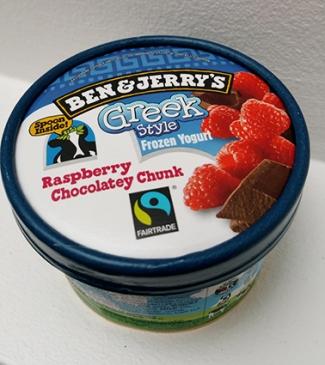 Ben & Jerry's Raspberry Chocolatey Chunk