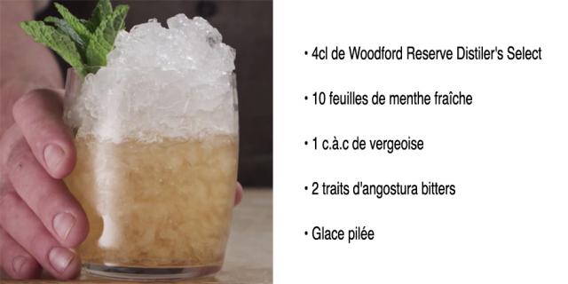 Cocktail Mint Jupel