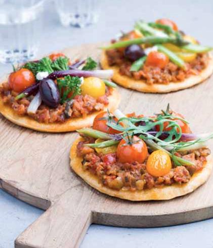 Pizze Pesto Rustico Barilla© - article www.justabreak.com
