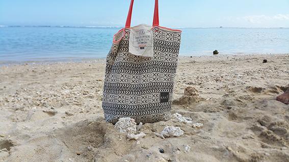 Tote bag EXKi beach3 ©www.justabreak.com