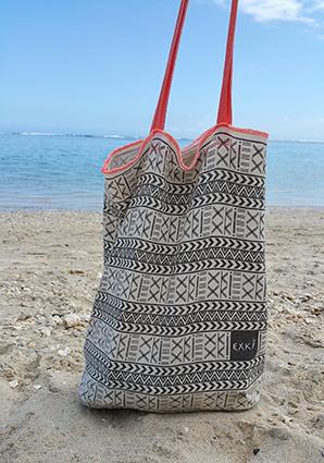 Tote bag EXKi beach6 ©www.justabreak.com