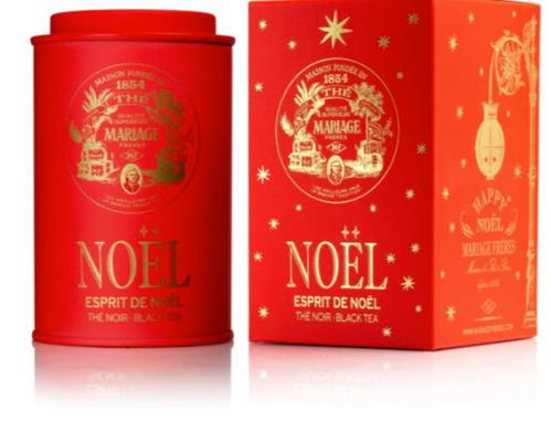 Boite thé Mariage Frères Happy Noël Collection - article www.justabreak.com