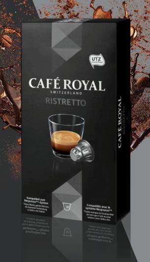 Ristretto Café Royal - article www.justabreak.com
