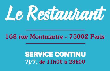 Horaires Restaurant Le Camion qui fume - article www.justabreak.com